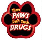 Drug Awareness Paw