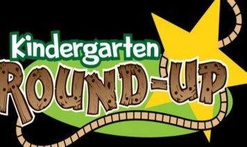 Kindergarten Round Up Logo