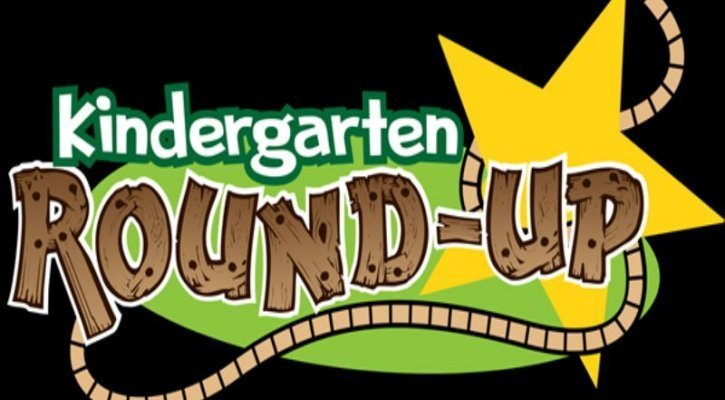 Kindergarten Round Up Logo